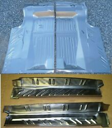 68-70 Coronet Trunk Floor And Drop Off Extension Kit Usa Panel