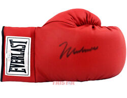 Muhammed Ali Signed Autographed Red Everlast Boxing Glove Online Authentics Coa