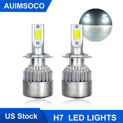2x H7 Led Headlight Canbush High Beam Bulbs Kit Xenon White 45 Days Free Return