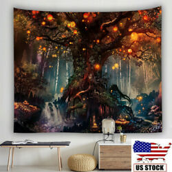 Bedroom Tree Of Life Queen Bed Width Trippy Living Throw Tapestry Bedspread USA