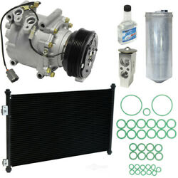 A/c Compressor And Component Kit-compressor-condenser Replacement Kit Fits Civic