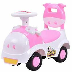Baby Calf 3-in-1 Walker Low-seat Ride On Toy Sliding Car Pushing Cart With Sound