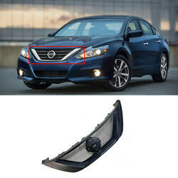 Resin Front Upper Bumper Mesh Grill Grille 1pc For Nissan Altima Teana 2016-2018