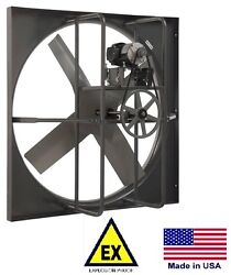 Exhaust Panel Fan - Explosion Proof - 36 - 230/460v - 3 Phase - 16,554 Cfm