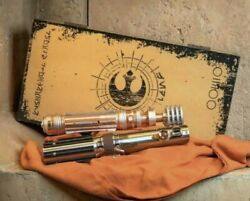 Star Wars Day May The 4th Galaxys Edge Le Skywalker Luke Leia Lightsaber Hilts