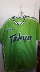 Tokyo Swallows Team Jersey Size L...nice....fast Shipping
