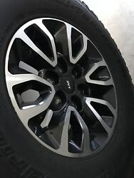 Ford Raptor Stock Wheels And Tires Set