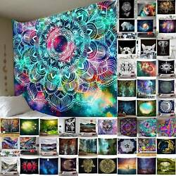 Boho Blanket Tapestry Wall Hanging Mandala Hippie Bedspread Throw Mats Decor