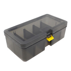 Premium Fishing Tackle Box Fishing Lure Storage Durable Impact With Dividers
