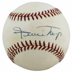 Giants Willie Mays Authentic Signed William White Onl Baseball Bas Aa03442