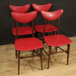 Chairs Italian Furniture Design Living Room Armchairs Modern Red Faux Leather