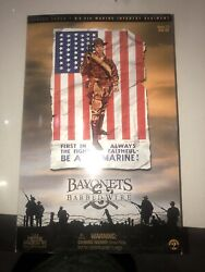 1/6th Ww1 U.s 5th Marine Infantry Regiment Sideshow Bayonets And Barbed Wire .