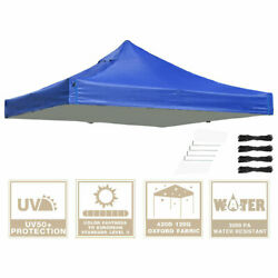 10x10ft Ez Pop-up Canopy And Replacement Cover Folding Waterproof Sunshade Uv50+
