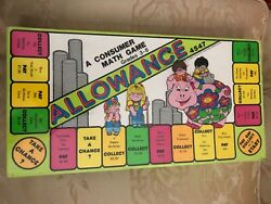 Remedia Publications Allowance Game Board Game A Consumer Math Game Unopened
