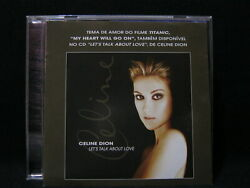 Celine Dion, My Heart Will Go On Remixes Single Cd Brazil With Rare Extra Sheet