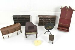 Vtg. Louis Marx And Co. / Renwal Etc. Doll House Furniture Lot Plastic 1964 116
