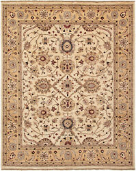 Vintage Hand-knotted Carpet 8'1 X 10'0 Traditional Oriental Wool Area Rug