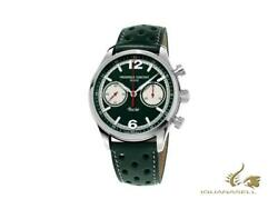 Frederique Constant Vintage Rally Healey Automatic Watch Fc-397 Green L. E.
