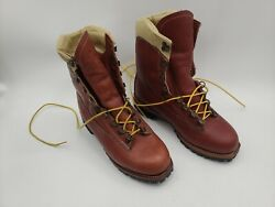 Vintage Chippewa 25480 Arctic Minus -50 F Work Hunting Boots Size 8.5 E Leather