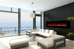 New Modern Flames Ambiance 100 Clx2 Electric Fireplace With Black Glass Front