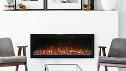New Modern Flames Spectrum Slimline Wall-mount/recessed 100 Electric Fireplace