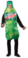 Morris Costumes Mountain Dew Get Real Bottle Costume