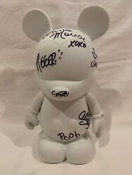 Disney Vinylmation Create Your Own Blank White Custom 9 - Hard To Find Signed