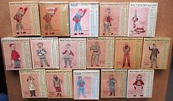 1950 Royal Dessert Pudding Howdy Doody Trading Cards Nr Set 16 Comp Unopen Boxes