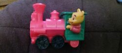 Vintage 90and039s Disney Winnie The Pooh Bear Big Thunder Mountain Toy Train Viewer