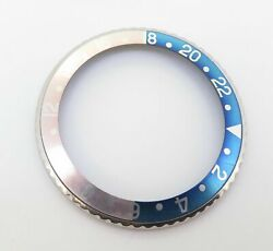 .vintage Rolex Gmt Steel Bezel And Stunning Ghost Faded Pepsi Insert 16710 16700