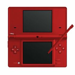 Nintendo Dsi Red Handheld Video Game Console