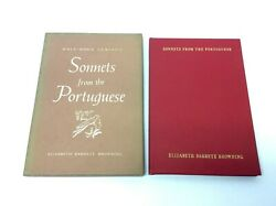 Sixth Printing July 1953 Half Hour Classics Sonnets From The Portuguese Book