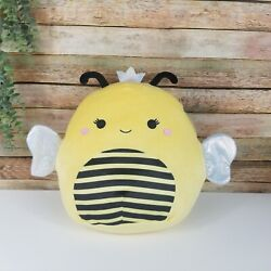 💝new💝 Squishmallow 11 Sunny Queen Bee Yellow Soft Plush Nwt Summer