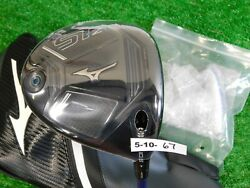 Mizuno St-z 10.5 Driver Riptide Cb 50g 5.5 Regular Graphite With Hc And Tool New