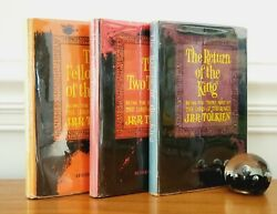 The Lord Of The Rings - J.r.r. Tolkien - First Edition Thus