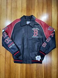 Boston Red Sox G Iii Leather Jacket World Series Jacket Size L