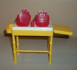 Barbie Doll Furniture - I Can Be A Zoo Doctor -replacement Feeding Nursery Table
