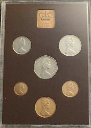 Royal Mint 1974 Coinage Of Great Britain And Northern Ireland Proof Set 2