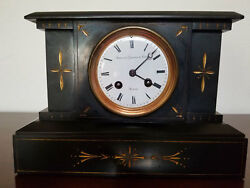 Antique 1860's French Movement Mantle Clock Sold Under A Private Label Rights