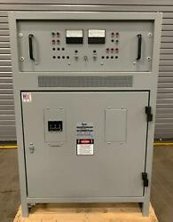Unused Enersys Battery Charger / Rectifier Scrf130-3-50-e 130vdc 50a In 240/3/60