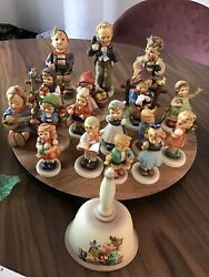 Vintage Hummel Goebel Figurines Lot Of 18 Which Includes A Bell