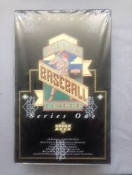 1993 Upper Deck Series 1 Baseball Factory Sealed Box With 36 Packs