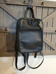 Margot Black Leather Small Backpack $24.00