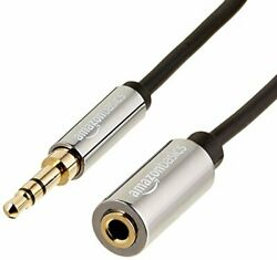 Basics 3.5mm Male To Female Jack Stereo Audio Extension Cable - 12-feet 3.66 ...