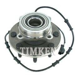 Wheel Bearing And Hub Assembly-4wd Front Timken Ha590032 For Dodge Ram