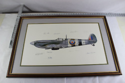 In Memory Of The Few Spitfire Signed Print