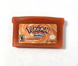 Pokemon Firered Version Game Boy Advance 2004 Tested And Saves Fast Shipping