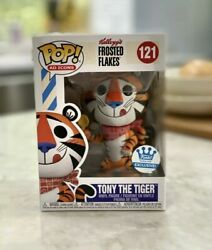 Funko Pop 121 Tony The Tiger Kelloggs Frosted Flakes Vinyl Figure Collectibles