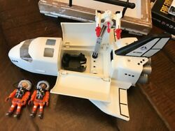 Playmobil 6196 Mission Geo Space Shuttle 2015 Lights And Astronauts
