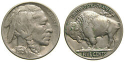 United States 1915-d 5 Cents Indian Head Buffalo Nickel Denver Mint Good Vf++ Or